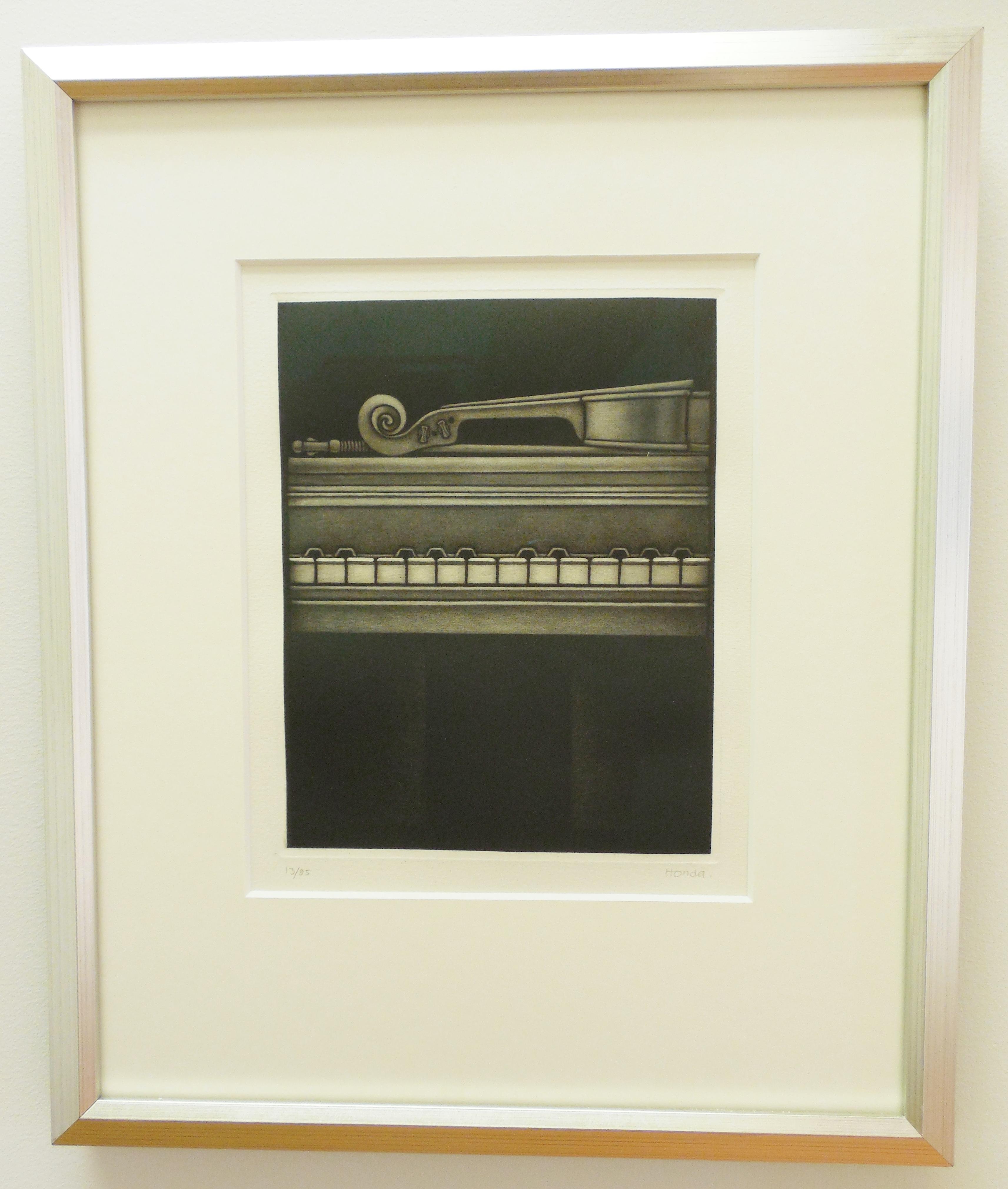 Honda Violin & Piano print