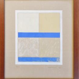 Lancaster abstract watercolor / gouache