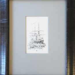 19th Century steam Ship