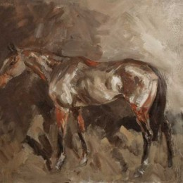 Limited edition horse print