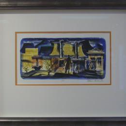 Train lithograph