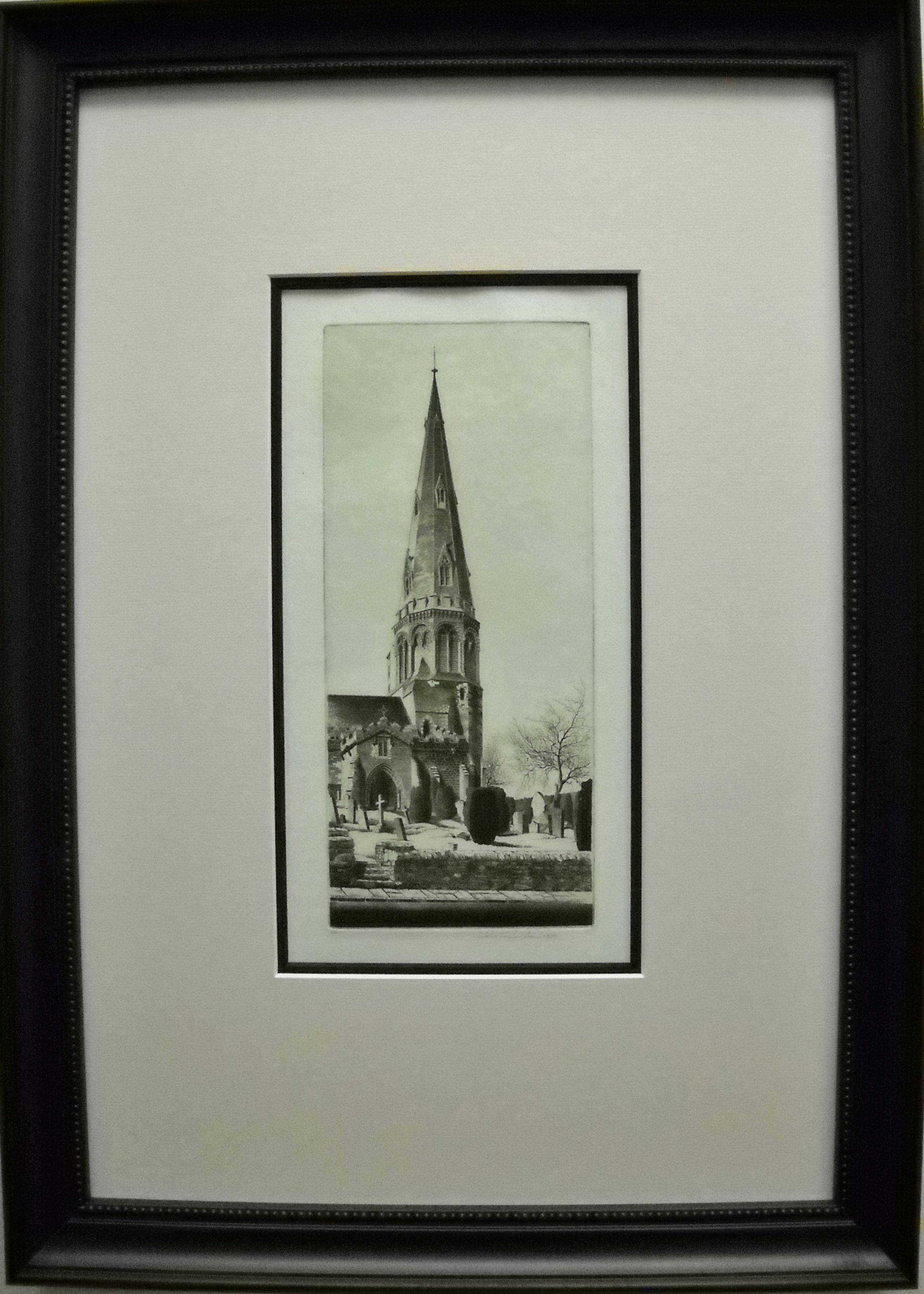 John Taylor Arms etching print
