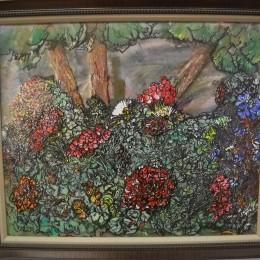 Les McCann acrylic painting