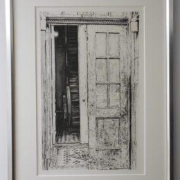 """Kirk """"Doorways"""" Portfolio 1975"""