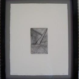 Ciaran Lennon folded paper artwork