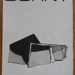 Affiche Exposition La Hune aquatint