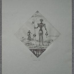 Limited edition surrealist print