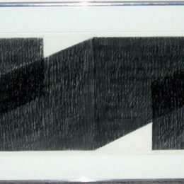 Tworkov pencil drawing
