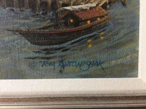 Tom Antonishak signature