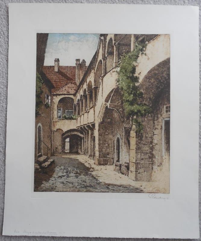 Steyr, Old Courtyard #71