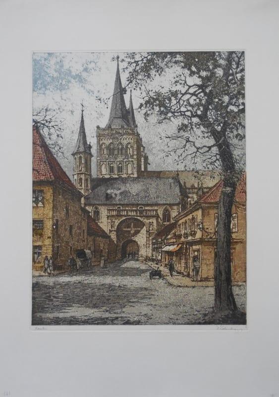 Eidenberger signed print