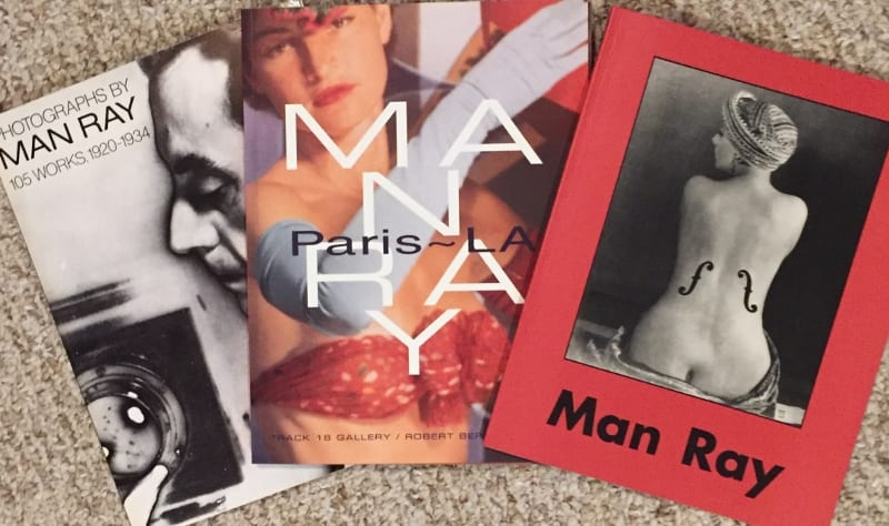 Paperback Man Ray book