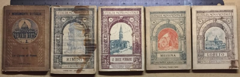 The Italian Monument - soft bound book